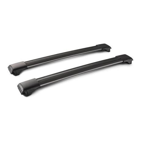 Μπάρες Οροφής 91cm Rail Bar Standard Whispbar ΧΕ.L.YS45WB Μαύρες aytokinhto mhxanh mpares mpagkazieres mpares orofhs