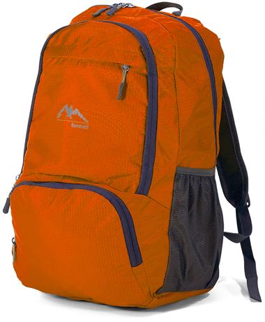 Σακίδιο Πλάτης Αναδιπλούμενο Benzi BZ5090 Πορτοκαλί paixnidia hobby eidh tajidioy sakidia plaths
