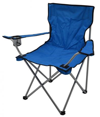 Καρέκλα Camping Πτυσσόμενη 778461 Μπλε khpos outdoor camping epoxiaka camping karekles paralias