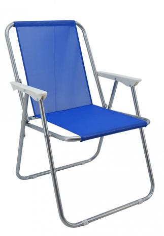 Καρέκλα Παραλίας 767700 Μπλε khpos outdoor camping epoxiaka camping karekles paralias