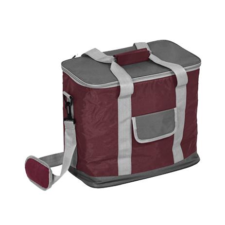 Ισοθερμική Τσάντα 767137 Μπορντώ-Γκρί khpos outdoor camping epoxiaka camping cygeia tsantes