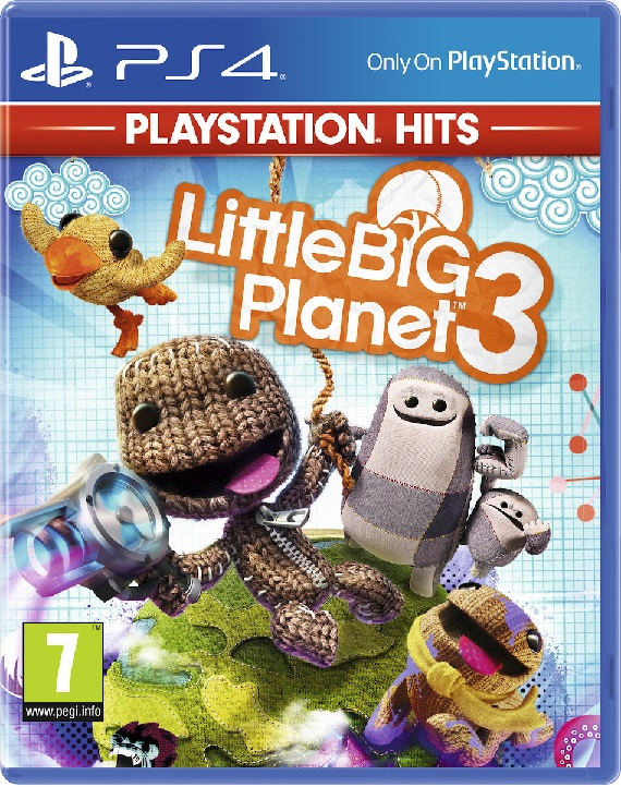 Little Big Planet 3 Hits - PS4 Game gaming games paixnidia ps4