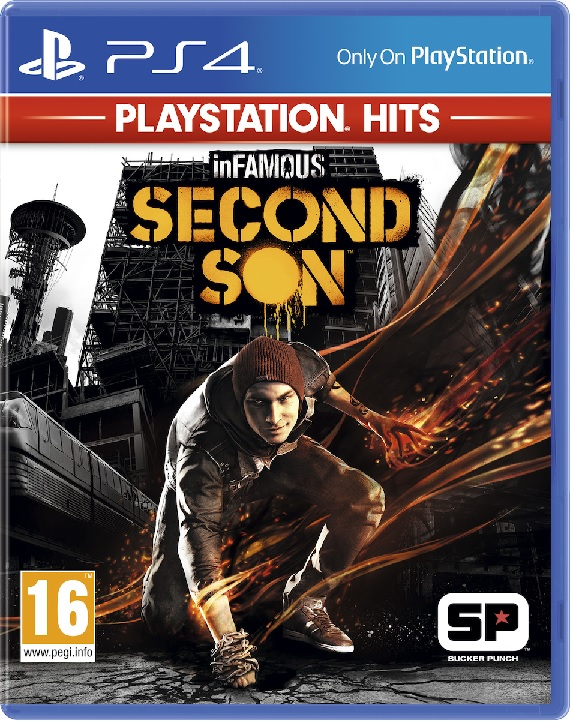 Infamous Second Son Hits - PS4 Game gaming games paixnidia ps4
