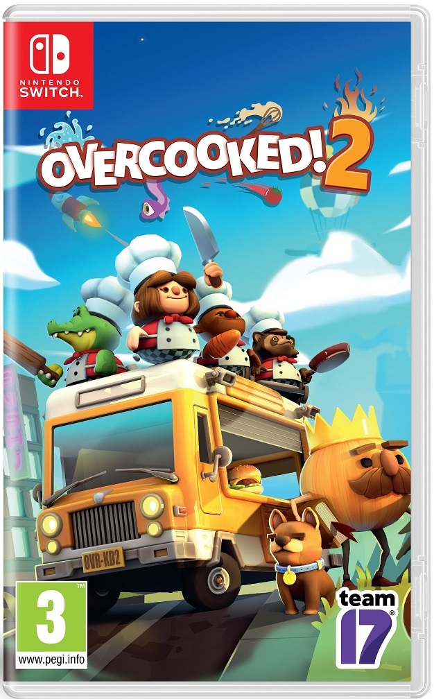 Overcooked 2 - Nintendo Switch Game gaming games paixnidia nintendo switch