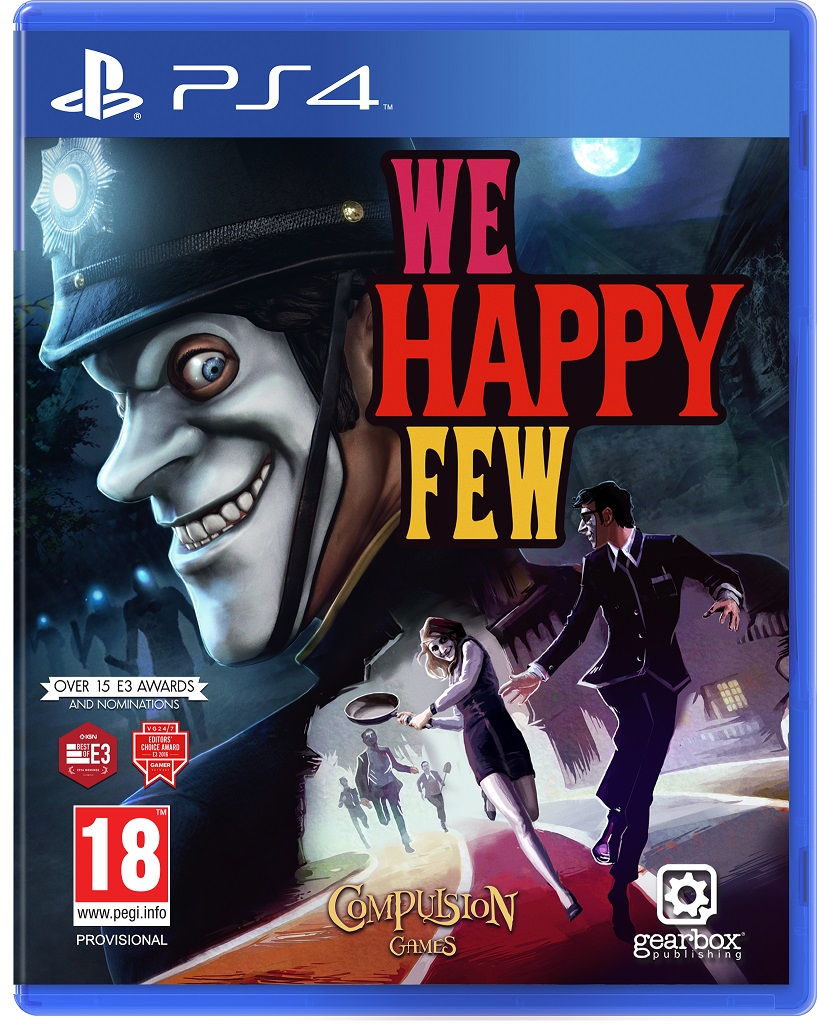 We Happy Few - PS4 Game gaming games paixnidia ps4