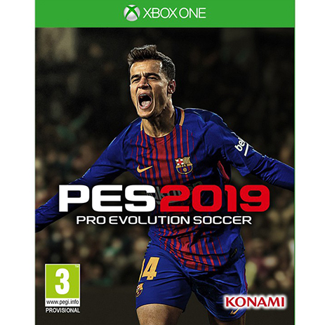 Pro Evolution Soccer 2019 - XBox One Game gaming games paixnidia xbox one
