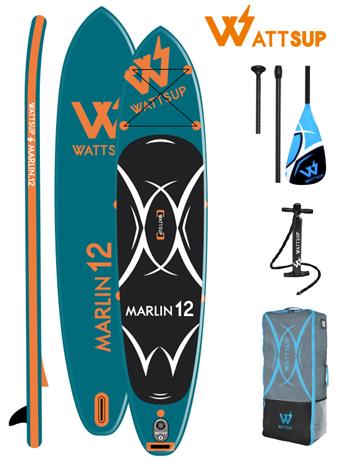 Φουσκωτή Σανίδα Sup WattSup Marlin 12 (0200-0406) khpos outdoor camping ualassia spor sanides sup