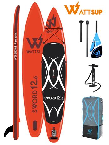 Φουσκωτή Σανίδα Sup WattSup Sword 12.6 (0200-0408) khpos outdoor camping ualassia spor sanides sup