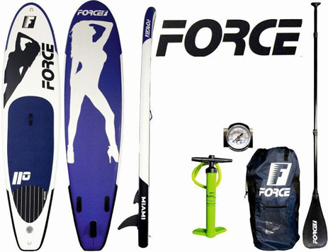 Φουσκωτή Σανίδα Sup Force Miami 11.0 (0200-0200) khpos outdoor camping ualassia spor sanides sup