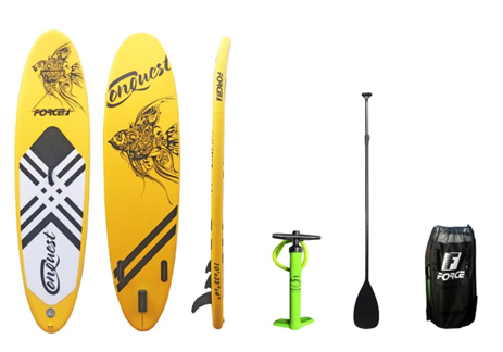 Φουσκωτή Σανίδα Sup Force Conquest 10΄ (0200-0301) khpos outdoor camping ualassia spor sanides sup
