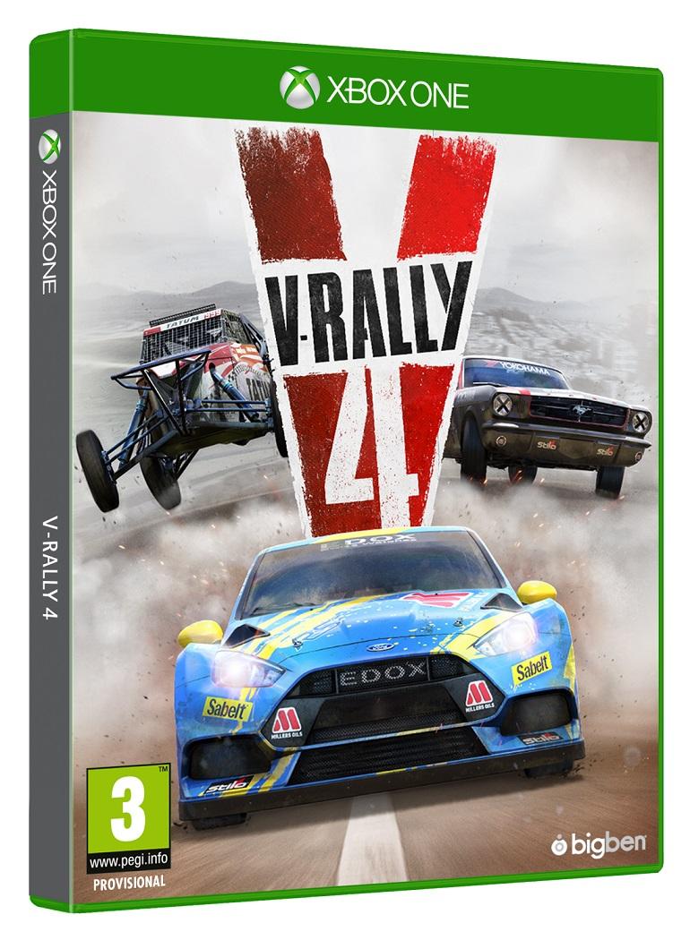 V-Rally 4 - XBox One Game + PreOrder Bonus gaming games paixnidia xbox one