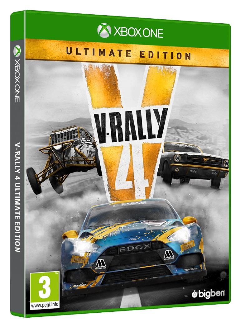V-Rally 4 Ultimate Edition - XBox One Game gaming games paixnidia xbox one