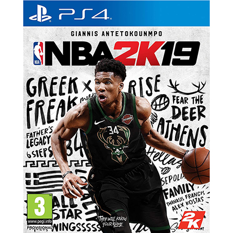 NBA 2K19 - PS4 Game - D1 Edition (PreOrder Bonus) Ελληνικής Αντιπροσωπείας gaming games paixnidia ps4