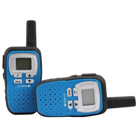 Walkie Talkie 8km Olympia 1208 Μπλε paixnidia hobby gadgets diafora