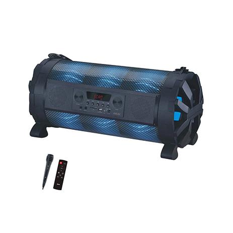 Φορητό Ηχείο 2.1 Bluetooth με Led & Μικρόφωνο Akai ABTS-828 hlektrikes syskeyes texnologia eikona hxos hxeia