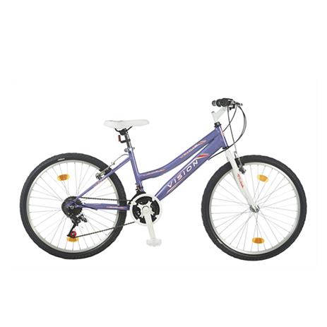 """Ποδήλατο Vision Venus Lady 24"""" 21 Ταχυτήτων Μωβ paixnidia hobby podhlata gynaikeia"""