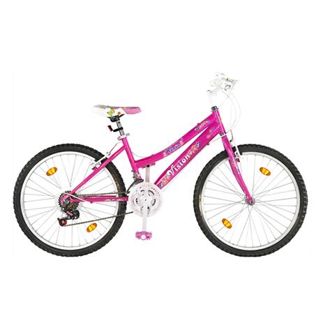 """Ποδήλατο Vision Venus Lady 24"""" 21 Ταχυτήτων Ροζ paixnidia hobby podhlata gynaikeia"""