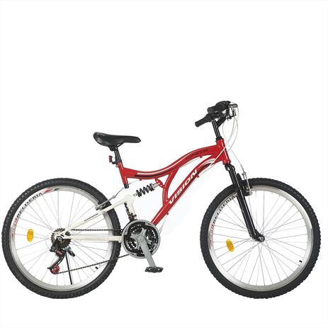 """Ποδήλατο Vision Kings GT 26"""" Suspension 21 Ταχυτήτων MTB Κόκκινο paixnidia hobby podhlata andrika"""
