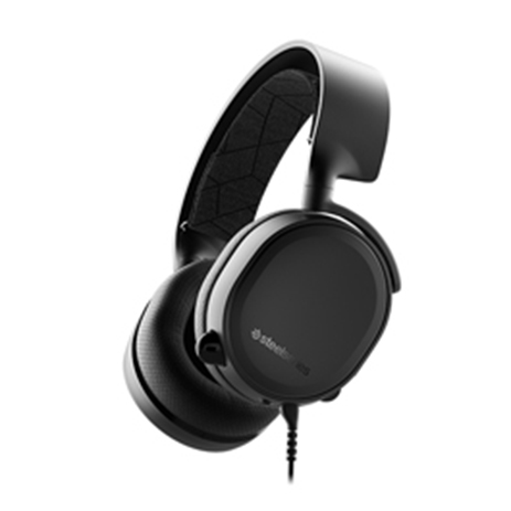 Steelseries Headset Arctis 3 Black 2019 Edition gaming perifereiaka gaming pc akoystika