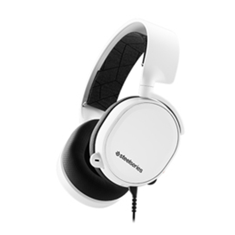 Steelseries Headset Arctis 3 White 2019 Edition gaming perifereiaka gaming pc akoystika