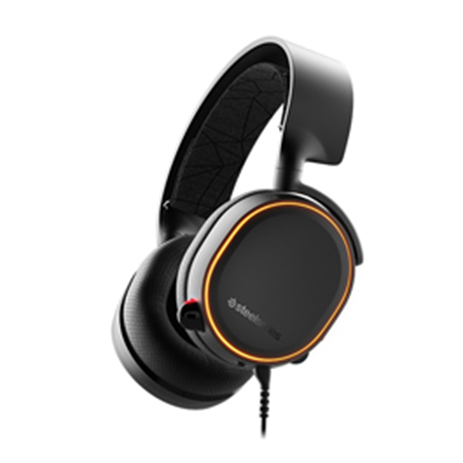 Steelseries Headset Arctis 5 Black 2019 Edition gaming perifereiaka gaming pc akoystika