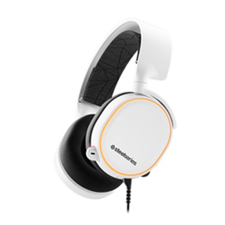 Steelseries Headset Arctis 5 White 2019 Edition gaming perifereiaka gaming pc akoystika