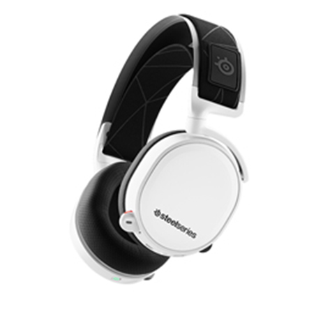 Steelseries Headset Arctis 7 White 2019 Edition gaming perifereiaka gaming pc akoystika