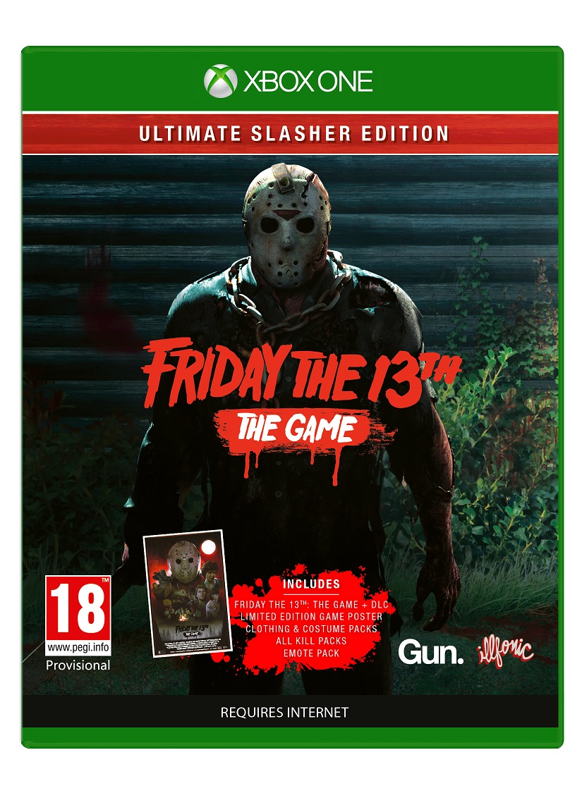 Friday The 13th Ultimate Slasher Edition - XBox One Game gaming games paixnidia xbox one