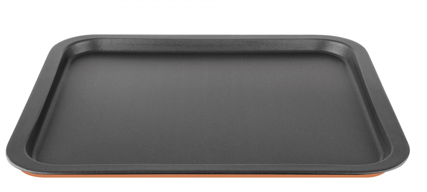 Ταψί Ζαχαροπλαστικής Αντικολλητικό 43x37 Ορθογώνιο PAL 40000879 Πορτοκαλί