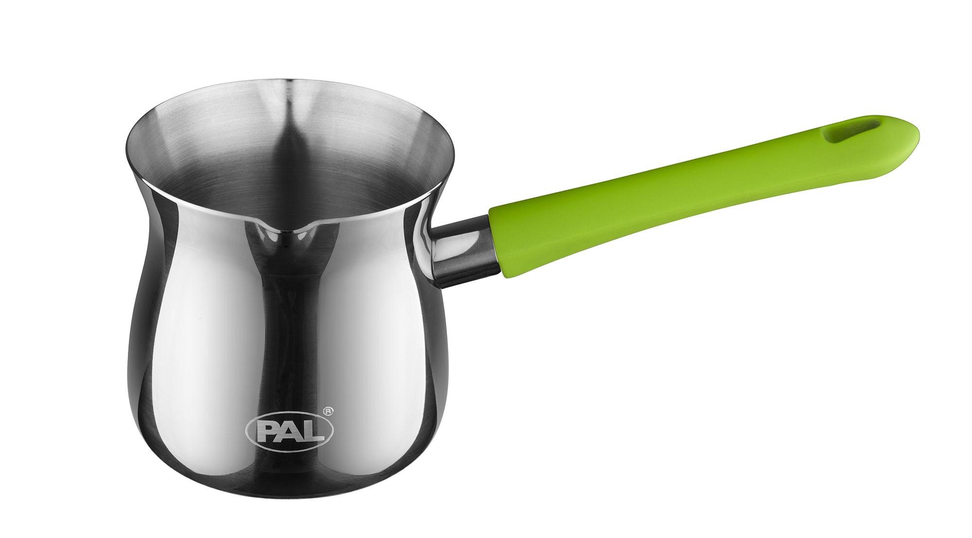 Μπρίκι Ανoξείδωτο PAL Titanium 18/8 No8 250 ml PAL Colors 50000501 Πράσινο