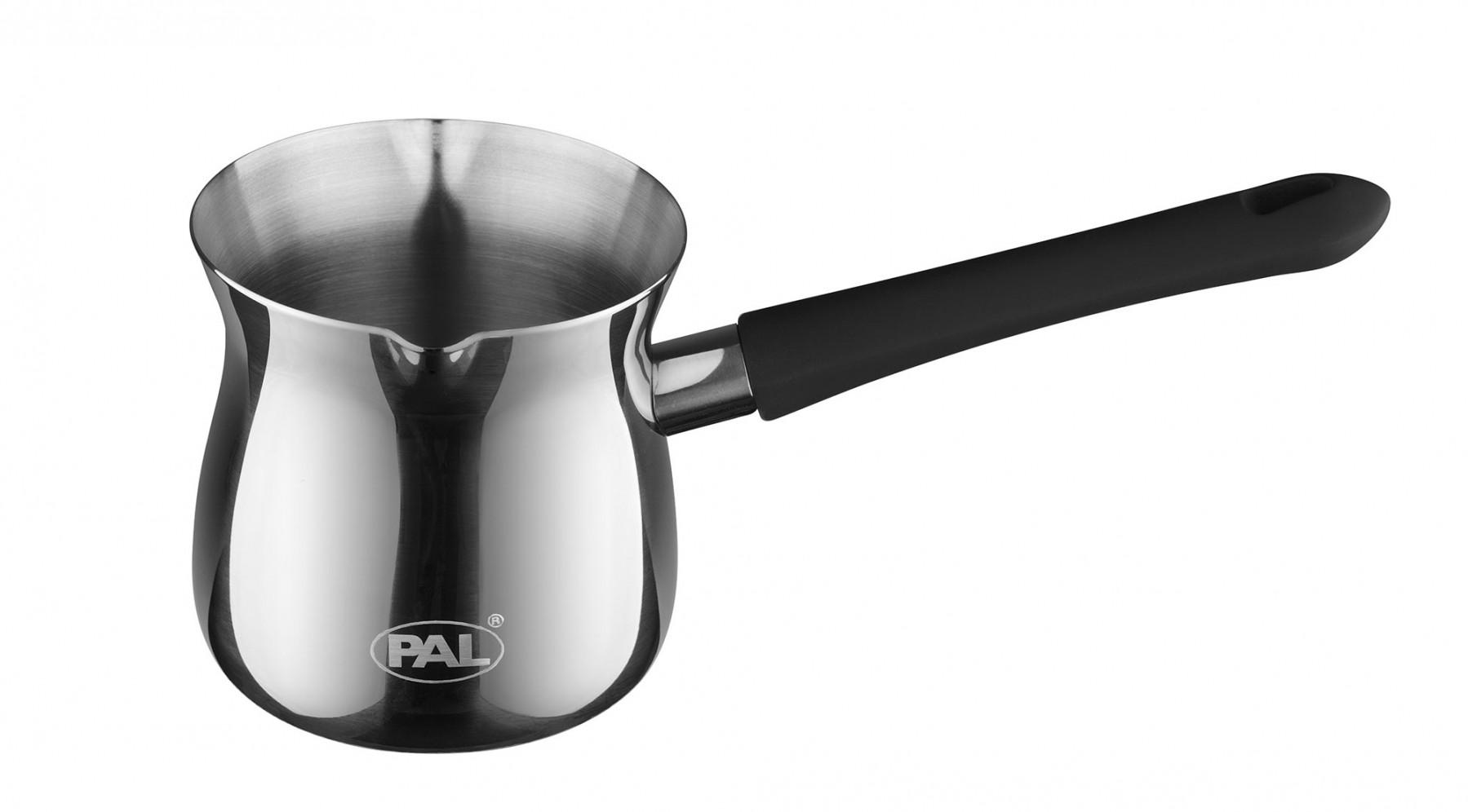 Μπρίκι Ανoξείδωτο PAL Titanium 18/8 No8 250 ml PAL Colors 50000505 Μαύρο