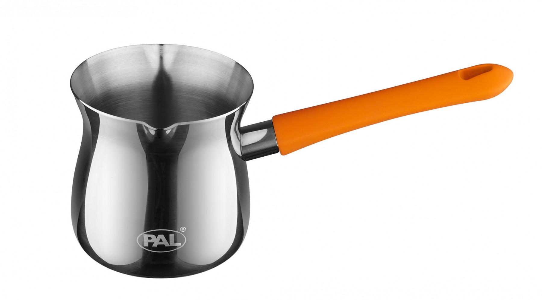 Μπρίκι Ανoξείδωτο PAL Titanium 18/8 No9 380ml PAL Colors 50000507 Πορτοκαλί
