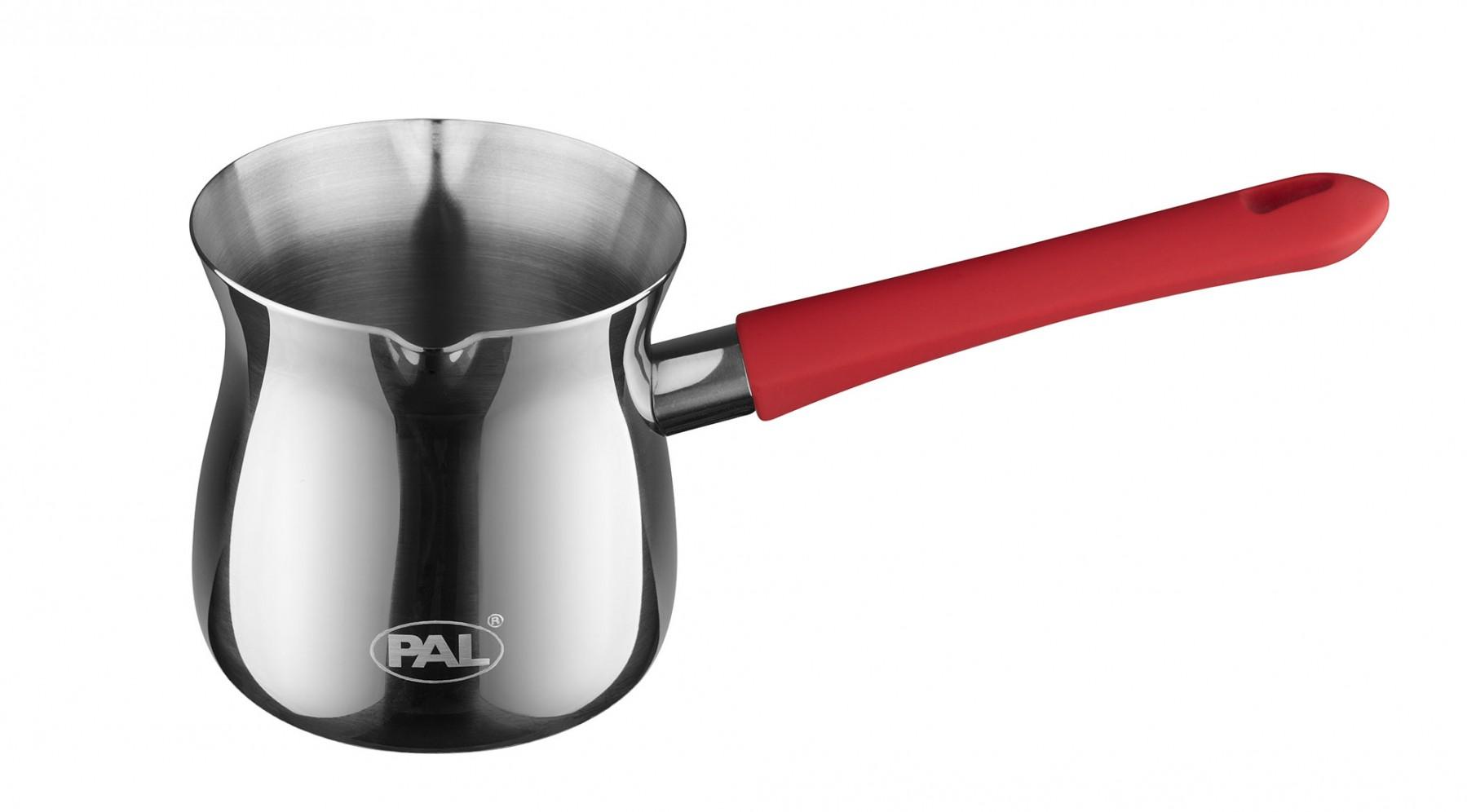 Μπρίκι Ανoξείδωτο PAL Titanium 18/8 No9 380ml PAL Colors 50000509 Κόκκινο