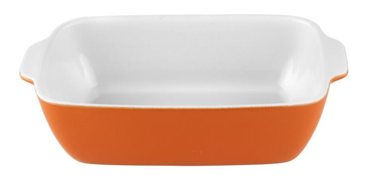 Πυρίμαχο Σκεύος Ορθογώνιο 32x21x7,5cm Πορτοκαλί PAL Stoneware 50000370 Πορτοκαλί