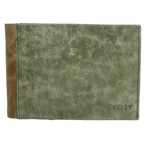 Πορτοφόλι Ανδρικό Distress Cozy 772 Πράσινο