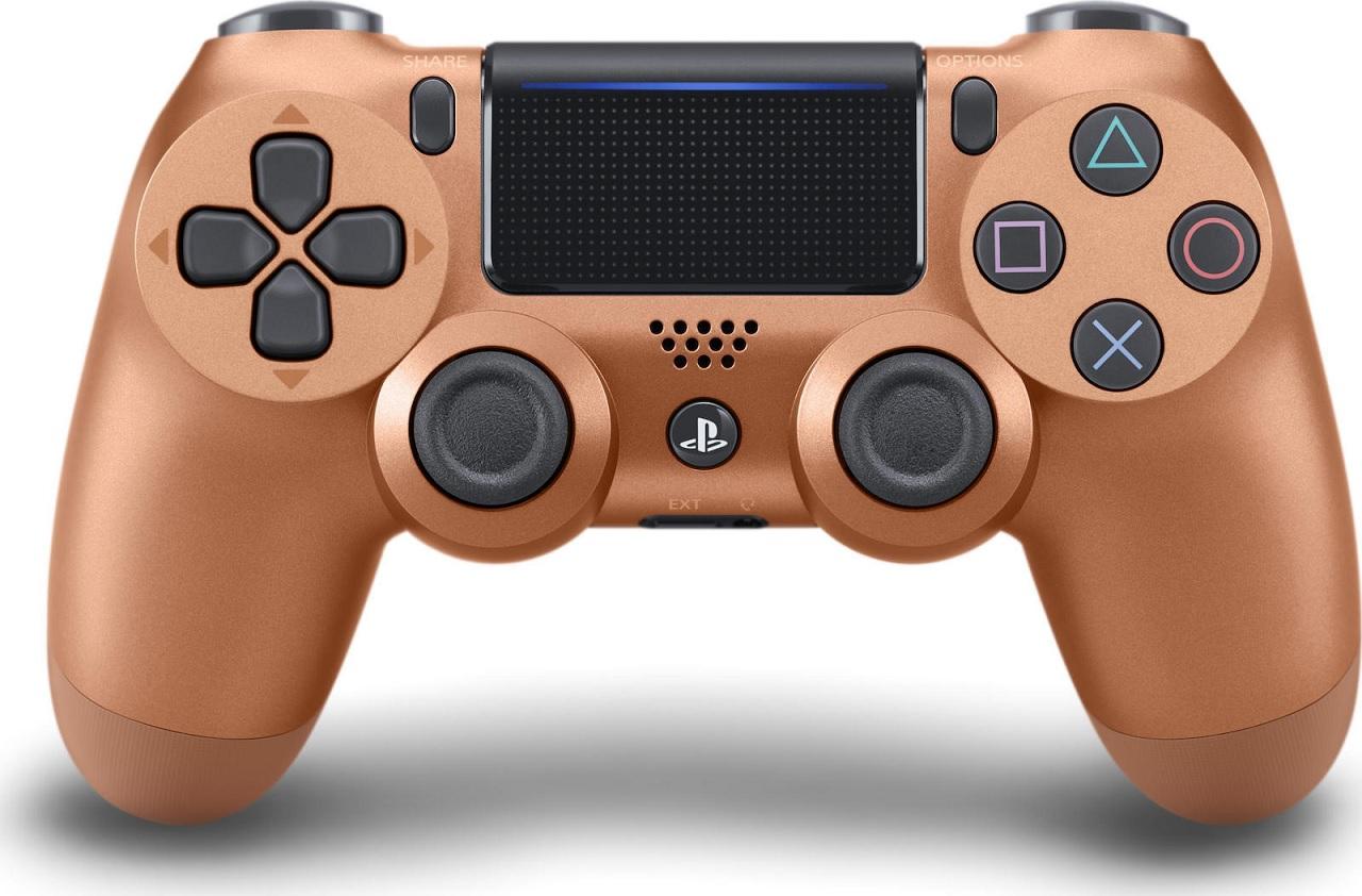 Χειριστήριο Ασύρματο Sony DualShock 4 V2 Copper - PS4 Controller gaming perifereiaka gaming ps4 xeiristhria
