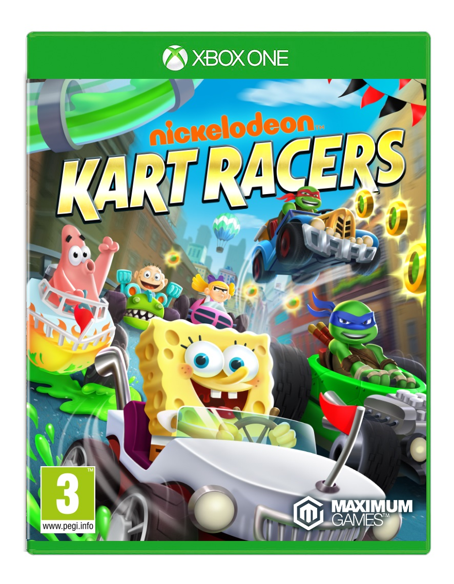 Nickelodeon Kart Racers - XBox One Game gaming games paixnidia xbox one