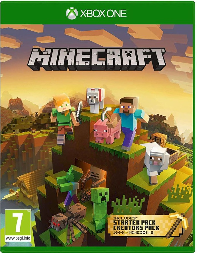 Minecraft Master Collection - XBox One Game gaming games paixnidia xbox one