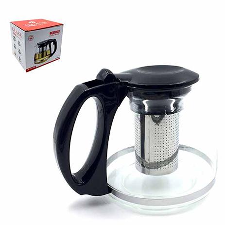 Καφετιέρα Γυάλινη με Inox Σίτα 1100ml Home&Style 735083-24