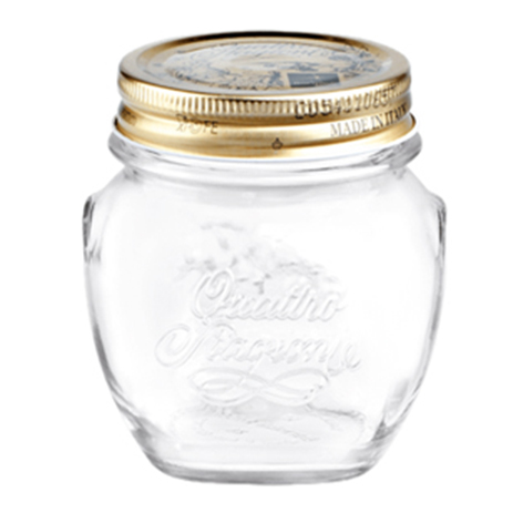 Βάζο Τροφίμων Γυάλινο Quattro Stagioni Anfora 0,5lt με Καπάκι Bormioli Rocco 504365630-12