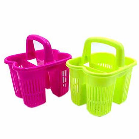 Κουταλοθήκη Πλαστική με Λαβή 4 Θέσεων Home&Style 7358022-120