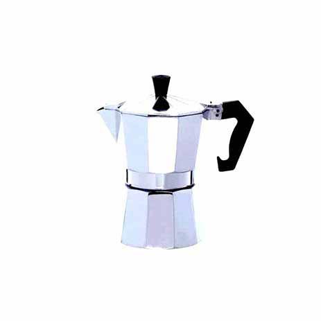 Μηχανή Espresso Αλουμινίου για 1 Φλυτζάνι Home&Style 735501-60