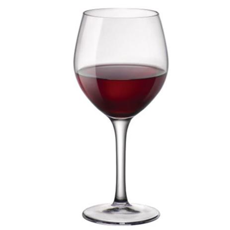Ποτήρι Κολωνάτο New Kalix Burgundy 43,5cl Bormioli Rocco 504136100-12 Σετ 12τμχ