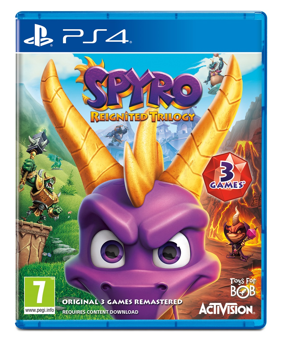 Spyro Reignited Trilogy - PS4 Game gaming games paixnidia ps4