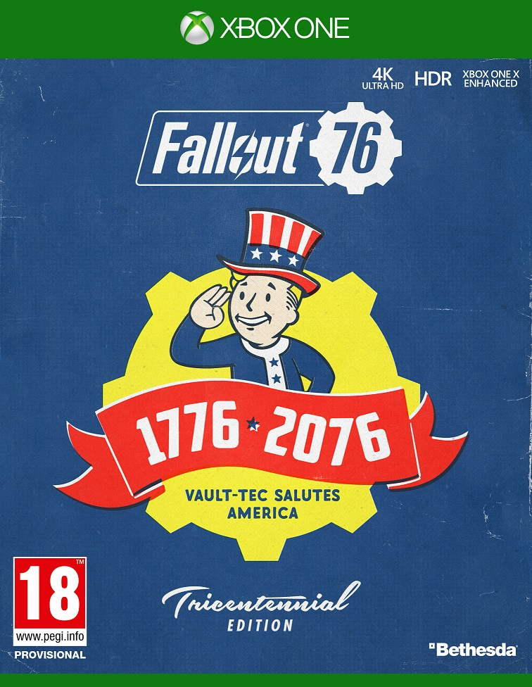 Fallout 76 Tricentennial Edition - XBox One Game gaming games paixnidia xbox one