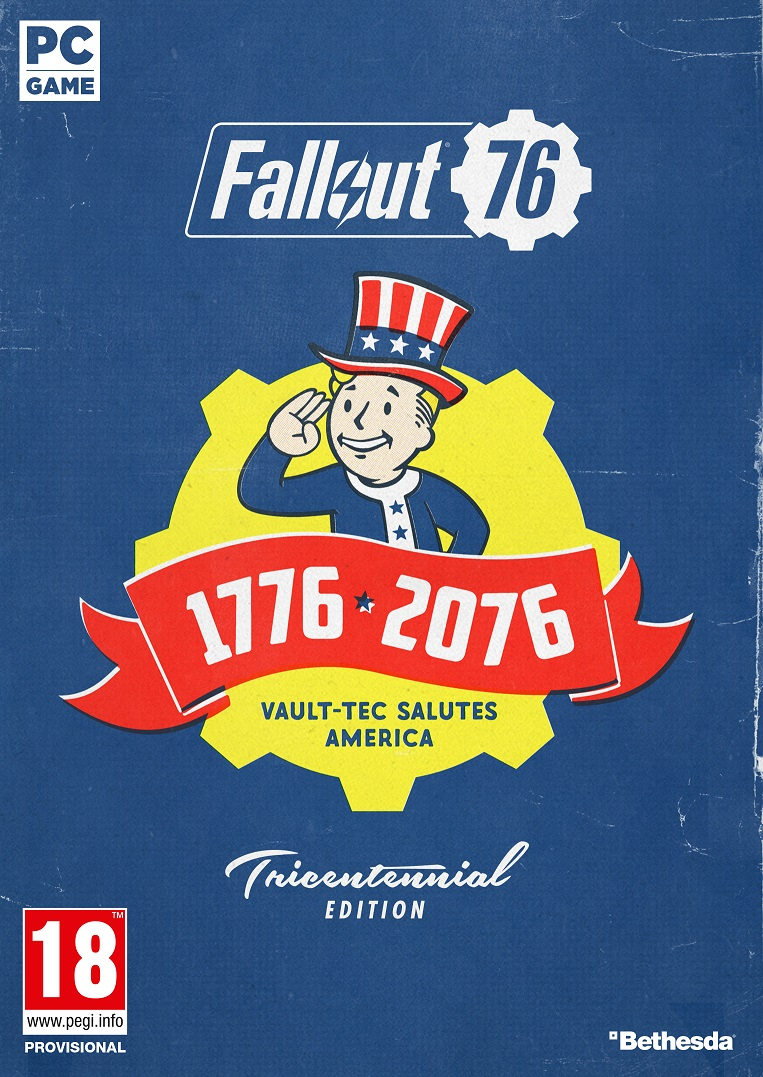 Fallout 76 Tricentennial Edition - PC Game gaming games paixnidia pc