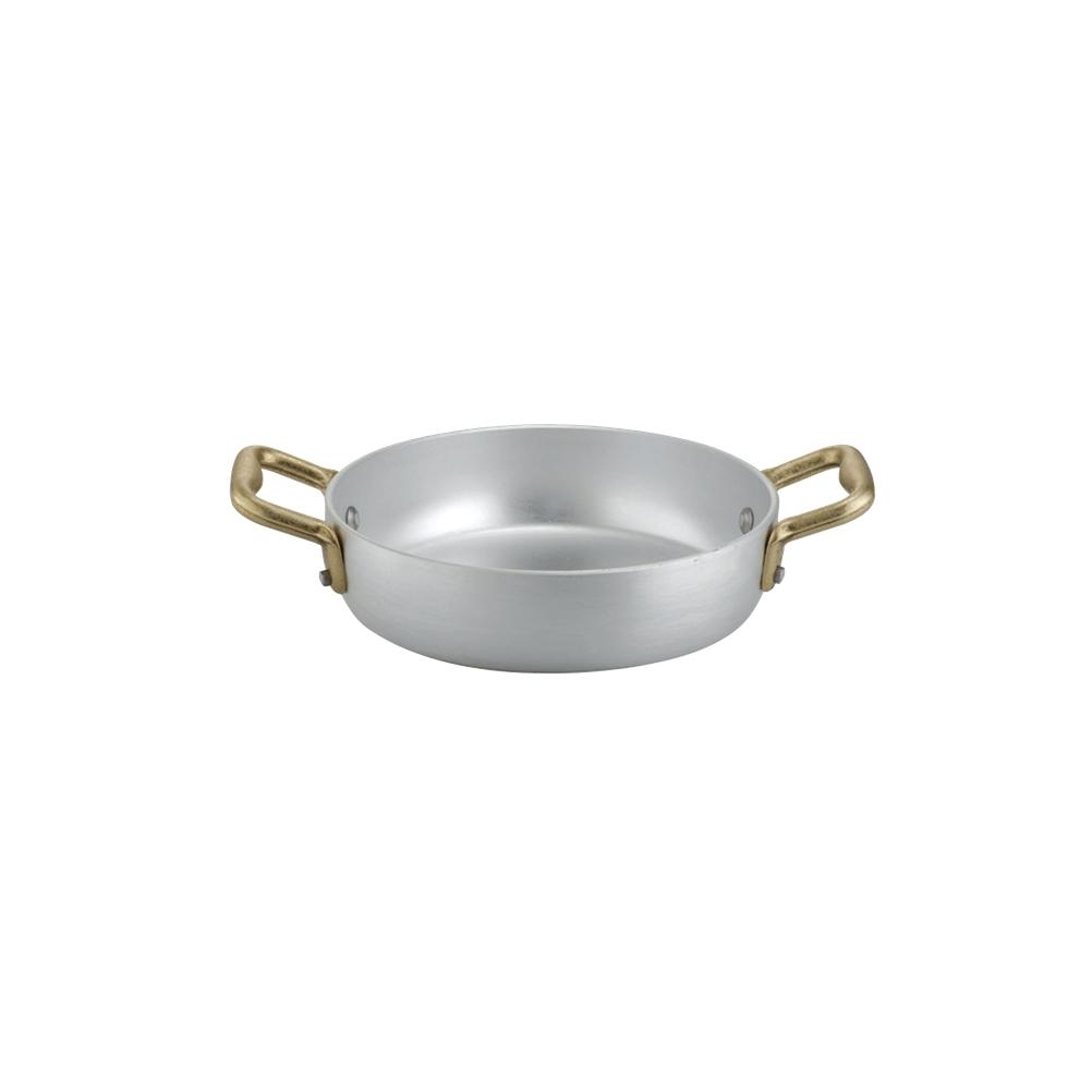 Σωτεζάκι Αλουμινίου 12cm με 2 Χρυσά Χερούλια Italo Ottinetti 1566012