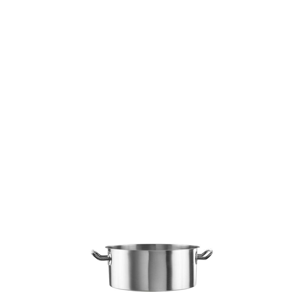 Χύτρα Ρηχή Ανοξείδωτη 2.5lt Fueco FSP-20X9