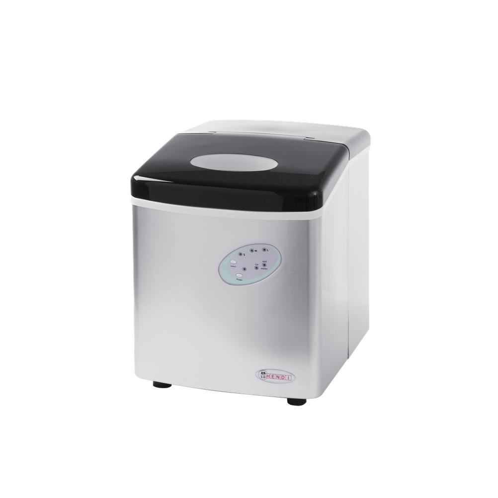 Ηλεκτρική Παγομηχανή 12kg Παγάκια Hendi 271568