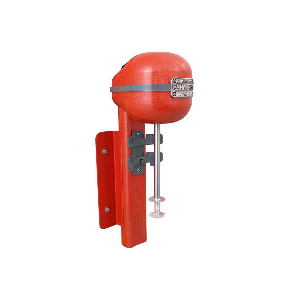 Αυτόματη Επιτοίχια Φραπιέρα Ανοξείδωτη Kalko KDM450AW-PRL/RD Κόκκινη Περλέ